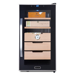 CHC-172BD Whynter Elite Touch Control Stainless 1.8 cu.ft. Cigar Humidor