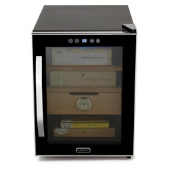 CHC-122BD Whynter Elite Touch Control Stainless 1.2 cu.ft. Cigar Humidor