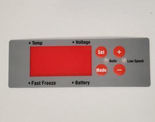 Whynter FM-45G / 65G / 85G control panel-sticker V2
