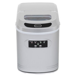 IMC-270MS Whynter Compact Portable Ice Maker 27 lb capacity – Metallic Silver