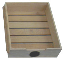 Cigar Drawer with Hygrometer Cut-Out for CHC-251S