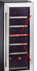 Whynter BWR-18SD, BWR-33SD, BWR-281DZ Handle Bar Screw Cover Set (BWR-HSC)