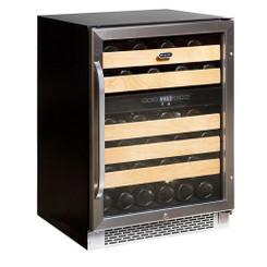 BWR-462DZ Whynter 46-Bottle Dual Temperature Zone Built-In Wine Refrigerator