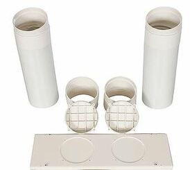 Whynter ARC Type N1 Dual Hose Window Exhaust Kit Set (ARC-WKSETD1)