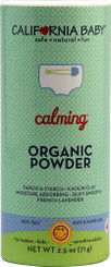 California Baby Calming䋢 Organic Powder -- 2.5 oz