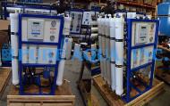 نظم RO المياه التجارية للمستشفيات - 2X 15000 GPD - الإكوادور