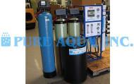 آلة التناضح العكسي التجارية للمياه لمطعم 1800 GPD - الولايات المتحدة الأمريكية