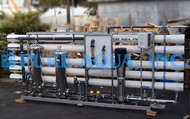 مشروع نظام التناضح العكسي للمياه المالحة -173,000 غالون فى اليوم - الجزائر