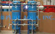 نظام أجهزة فلترة المياه لإزالة الشوائب 35 جالون في الدقيقة - الكويت