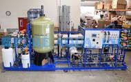 نظام تناضح عكسي بتبادل أيونى كهربائي لمحطة توليد كهرباء 75,000 غالون باليوم - أنغولا