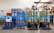 النظام المزدوج لإزالة الأيونات من المياه 140 جالـون في الدقيقة - بابوا غينيا الجديدة