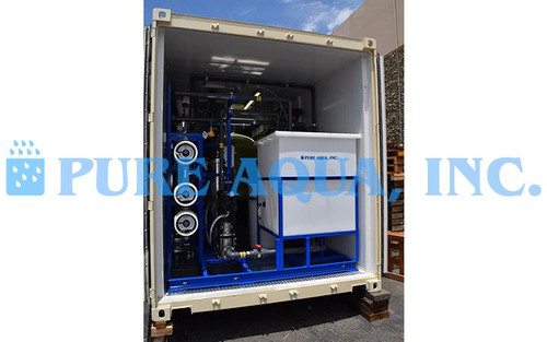 نظام معالجة مياه الصرف الصحي لمكب النفايات ضمن حاويات 54 جالون بالدقيقة - كـولومبيا