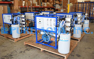 نظام تحلية مياه البحر للإستخدامات التجارية مياه الشرب 8 اجهزة 4,700 جالون في اليوم - المكسيك