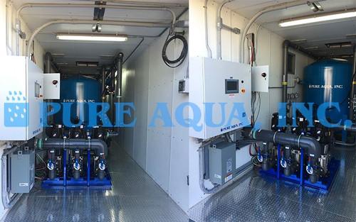 نظام فلترة المياه ضمن حاويات الشحن 216,000 جالون في اليوم - بالاو