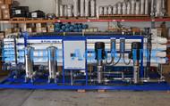 أجهزة تناضح عكسى صناعية للمياه المالحة 600,000  جالون في اليوم - الكويت