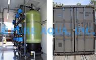 نظام فلتر إزدواجي المهام لإزالة الحديد والمنجنيز ضمن حاويات 60 جالون بالدقيقة - الولايات المتحدة