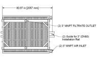 HYDRAsub HSM1000-ES Membrane