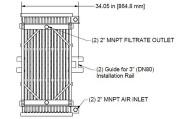 HYDRAsub MAX HSMM600-ES Membrane