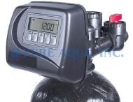 صمام تحكم وتصفية المياه وازالة العسر مع كلاك WS1TC