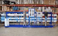 آلة التناضح العكسي الصناعية لفندق (الحد من المواد الصلبة الذائبة) 480 م 3 / يوم ، عمان