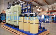 نظام RO مثبت بالماسحات مع مكونات NSF لمعلب السمك - 20،000 GPD - ألاسكا ، الولايات المتحدة الأمريكية