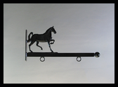 "Sign Bracket 24"" Decorative Horse Accent"