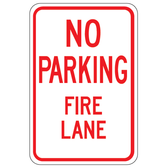 NO PARKING FIRE LANE IMAGE
