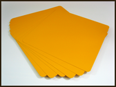 "Sign Blank Aluminum 12"" x 12"" Safety Yellow (2nd's)"