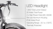 Juiced 1800 Lumen dual LED headlight