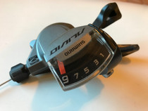 Shimano Alivio 9 speed shifter as used on the Juiced CrossCurrent