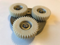 Replacement gear and clutch set for CrossCurrent S motor
