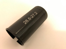 28.6 to 27.2 seat post adapter