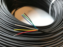 Six conductor e-bike wire for display, sensors, etc. Sold per meter