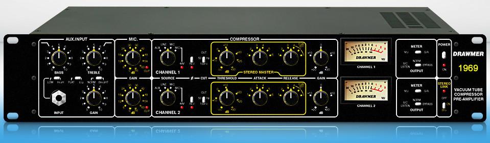 Drawmer 1969 Stereo Preamp/Compressor