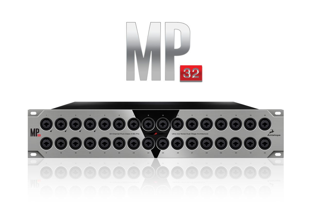 Antelope MP32 32-Channel Mic Preamp