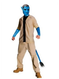 Avatar Mens Jake Sully Costume & Mask Adult One Size Fits Most