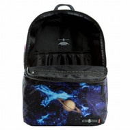 "Space Junk 18.5"" Astronaut Hands Blue Backpack - School Travel Pack"