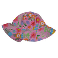 ABG Toddler Girls Pink Floral Sun Hat  Floppy Bumblebee Bucket Cap