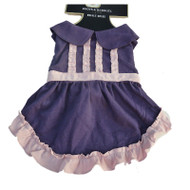 Boots & Barkley Purple & Pink Ruffled Dog Dress