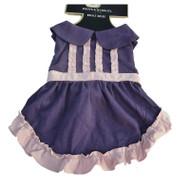 Boots & Barkley Purple & Pink Ruffled Dog Dress