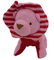 Animal Adventure Plush Knit Dog Stuffed Animal Valentine Puppy With Bonnet Pal