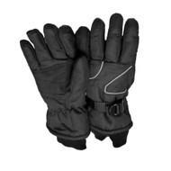 Aquarius Girls Black Thinsulate Snow & Ski Gloves