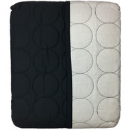 Apt 9 Revolution Twin Coverlet Black Quilted Bed Cover Comforter