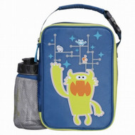 Blue Pet Pals Soft Lunch Box & Water Bottle Insulated Lunch Bag Lunchbox