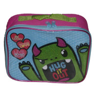 Animations So So Happy Monster Soft Lunch Box Insulated Bag Hug Out Lunchbox