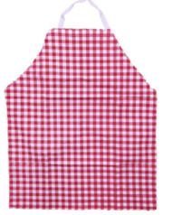1892 Grill Red Check Grilling Apron Bib Style BBQ Cooking