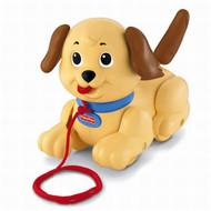 Fisher Price Brilliant Basics Lil Snoopy Pull Along Puppy Dog Preschool Bark