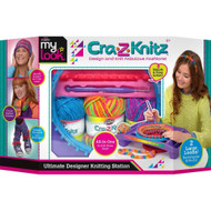My Look Crazy Knit Ultimate Knitting Loom Design Station