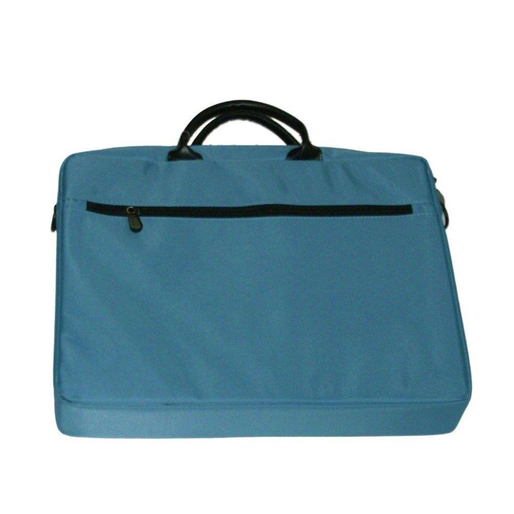 7619c999e339 Worldbound Computer Laptop Bag Blue Briefcase Padded Organizer Travel Case