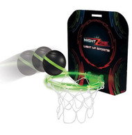 NightZone Light Up Hoops - Night Time Basketball - Assorted Colors
